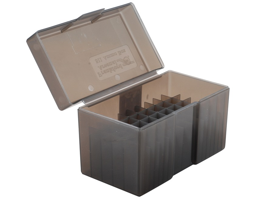 Frankford Arsenal Flip-Top Ammo Box #511 7mm Remington Magnum, 300 Remington Ultra Magnum, 375 H&H Magnum 50-Round Plastic