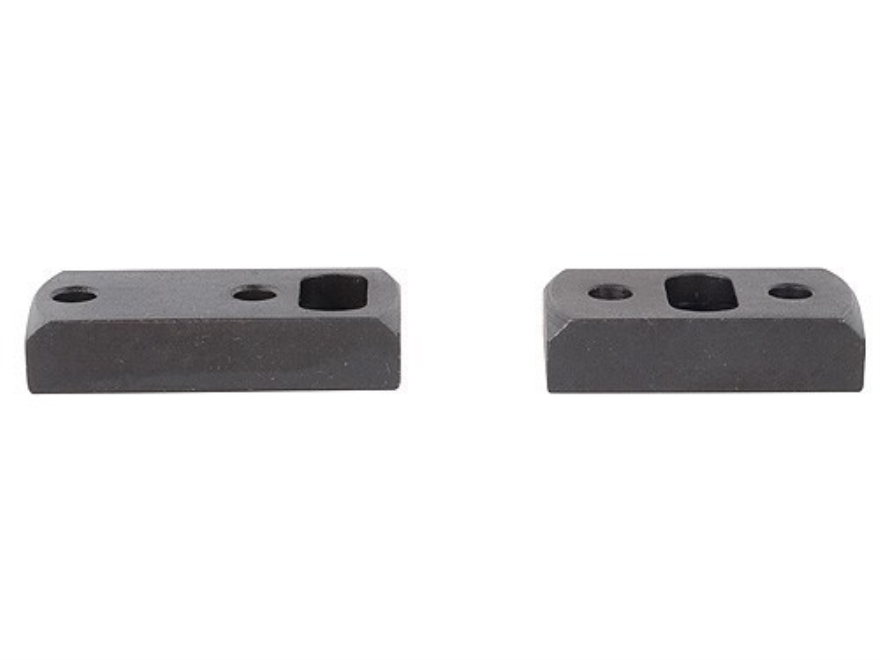 Redfield 2-Piece Dual-Dovetail Scope Base Extended Front Standard Rear Browning A-Bolt Matte
