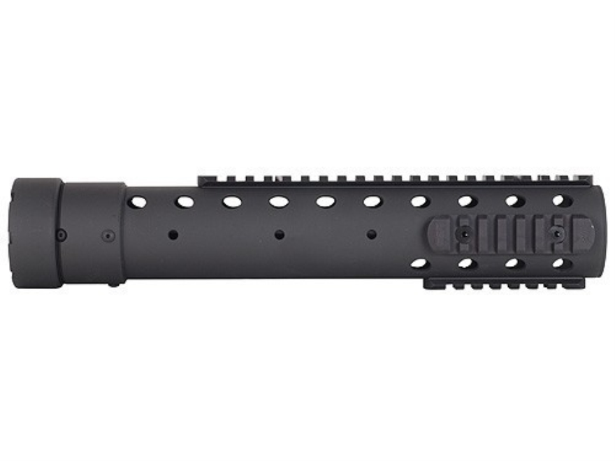 PRI Gen III Free Float Tube Handguard Quad Rail AR-15 Rifle Length Carbon Fiber Black