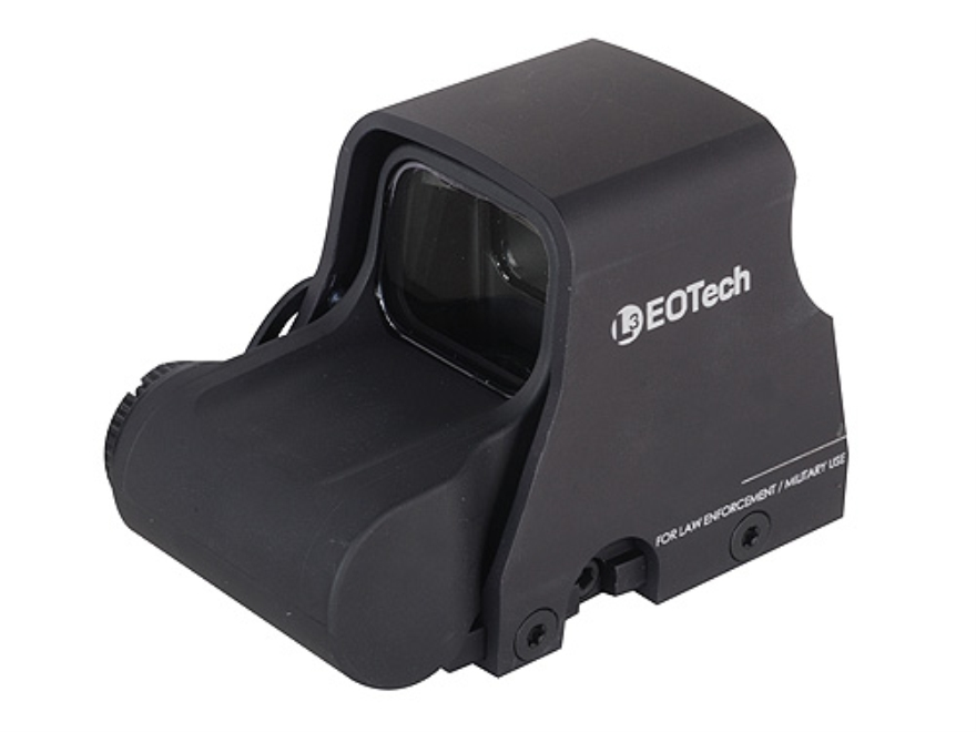 EOTech XPS3-2 Holographic Weapon Sight 65 MOA Circle with (2) 1 MOA Dots Reticle Matte CR123 Battery