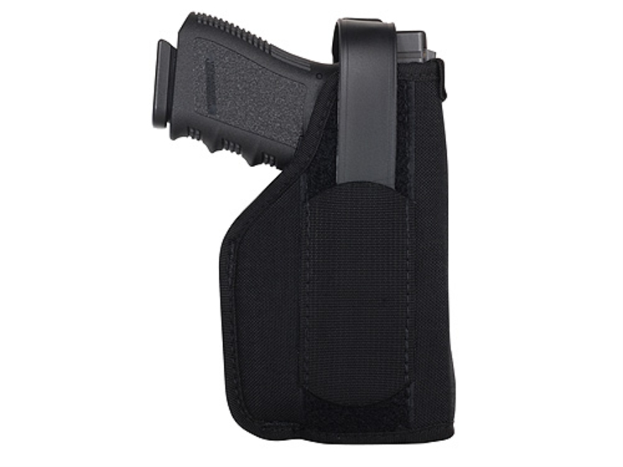 BLACKHAWK! Hip Holster with Thumb Break Right Hand Large Frame Semi-Automatics with Viridian Laser Sight or X5L Nylon Black