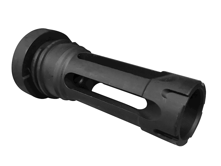 "Yankee Hill Machine Flash Hider Phantom 7.62 Quick Detach Mount 5/8""-24 Thread AR-10, LR-308 Steel Parkerized"