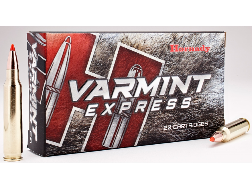 Hornady Varmint Express Ammunition 223 Remington 55 Grain V-Max Box of 20
