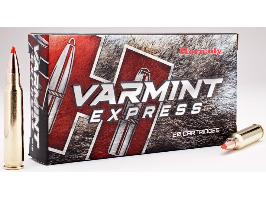 Hornady Varmint Express Ammunition 223 Remington 55 Grain V-Max