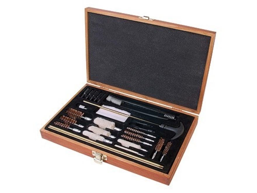 Outers 28-Piece Universal Cleaning Kit in Wooden Box