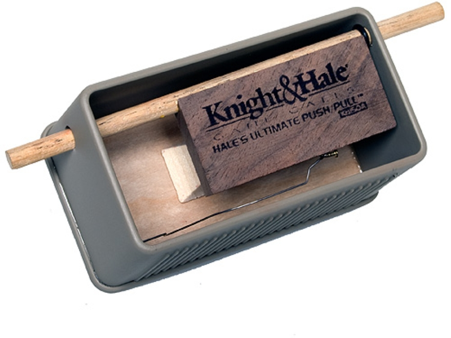 Knight & Hale Hale's Ultimate Push/Pull Friction Turkey Call