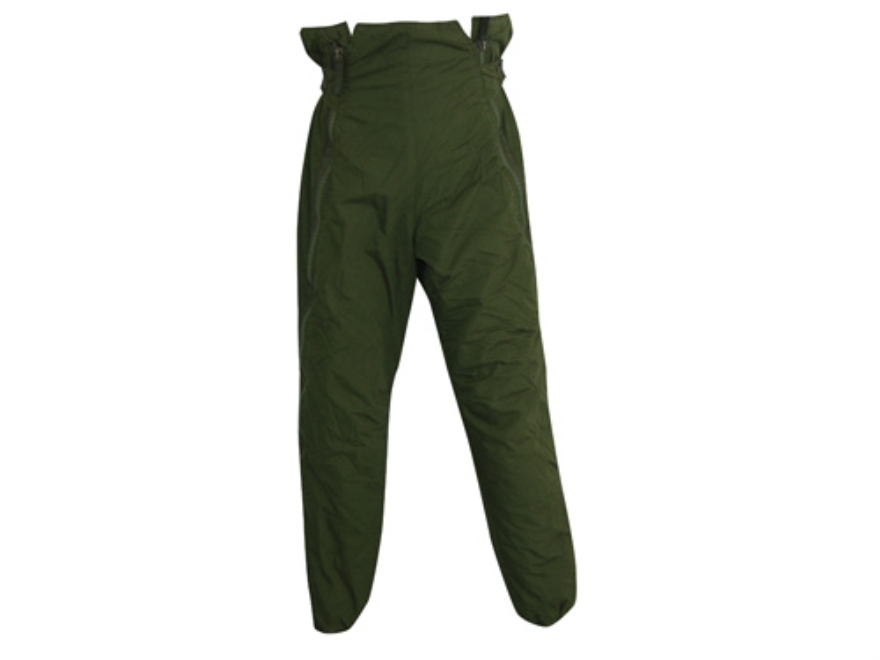 Military Surplus Swedish M90 Thermal Pants Nylon Olive Drab Medium