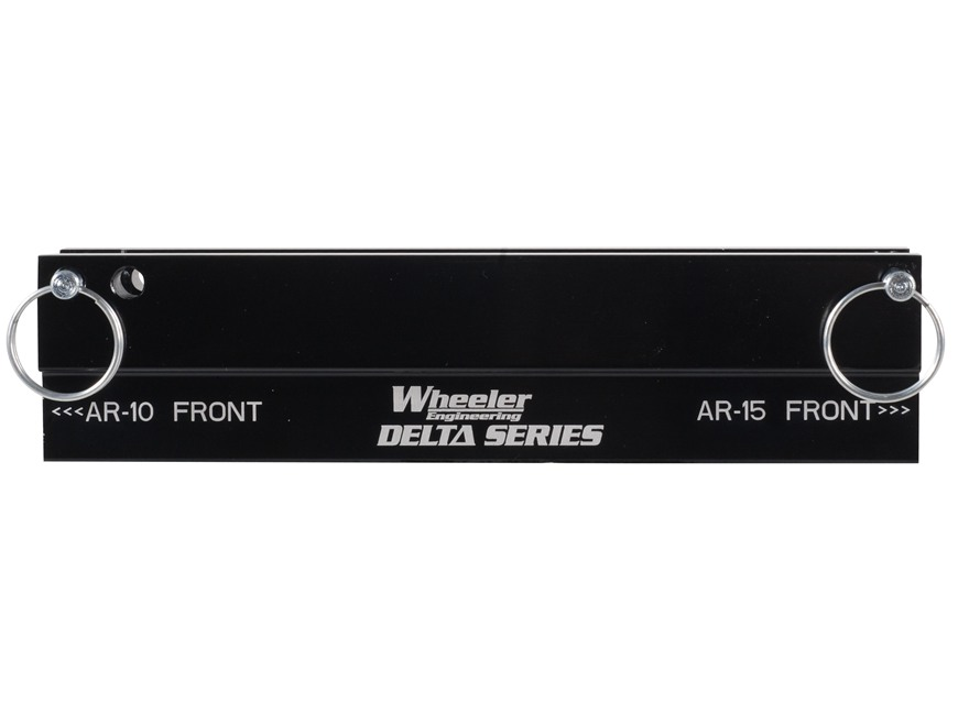 Wheeler Engineering Delta Series Upper Receiver & Picatinny Rail Vise Block AR-15, AR-10, LR-308