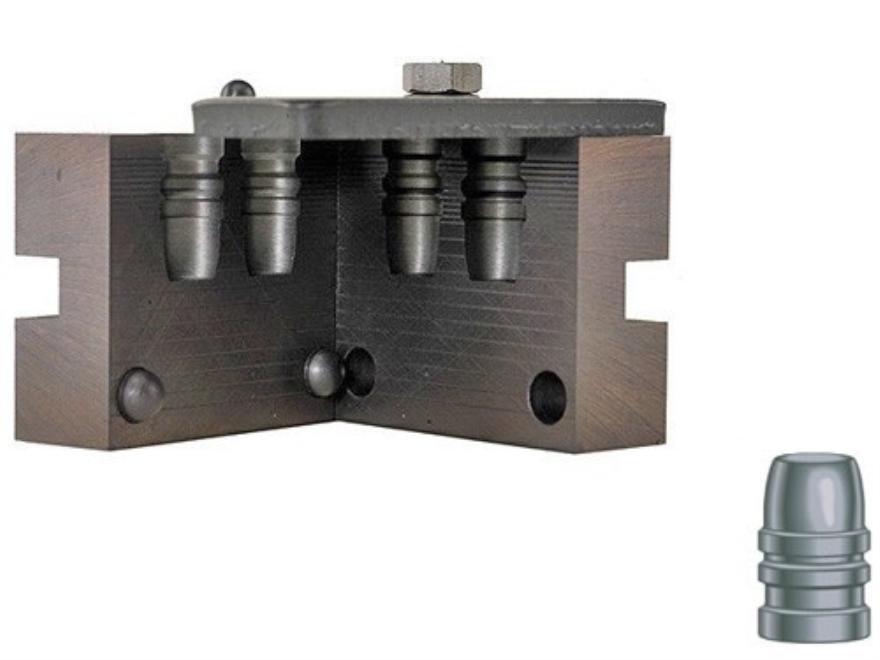 RCBS 2-Cavity Bullet Mold 45-255-SWC 45 Caliber (454 Diameter) 255 Grain Semi-Wadcutter