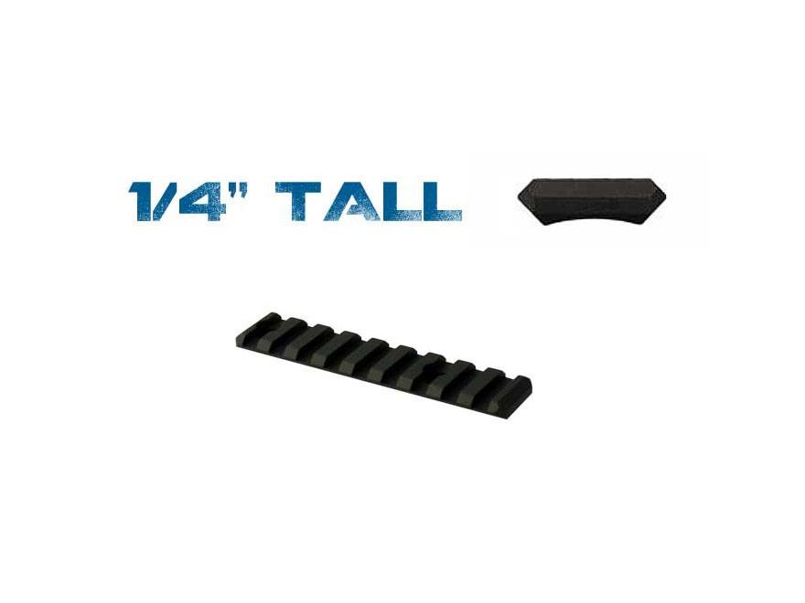 Yankee Hill Machine Picatinny Rail  Fits Yankee Hill Customizable Handguard Aluminum Matte