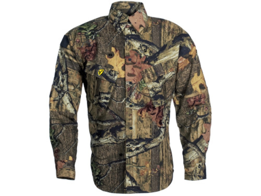 ScentBlocker Men's Recon Shirt Long Sleeve Polyester Ripstop