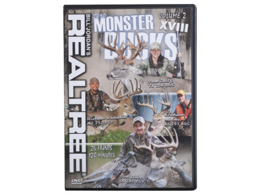 Realtree Monster Bucks 18 Volume 2 Video DVD