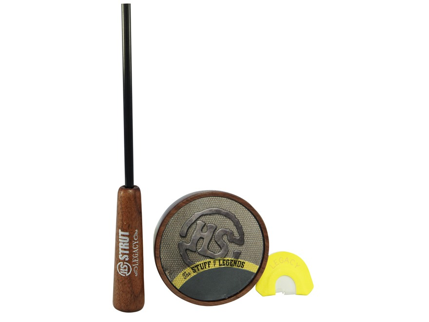 H.S. Strut Legacy Slate with Diaphragm Turkey Call Pack