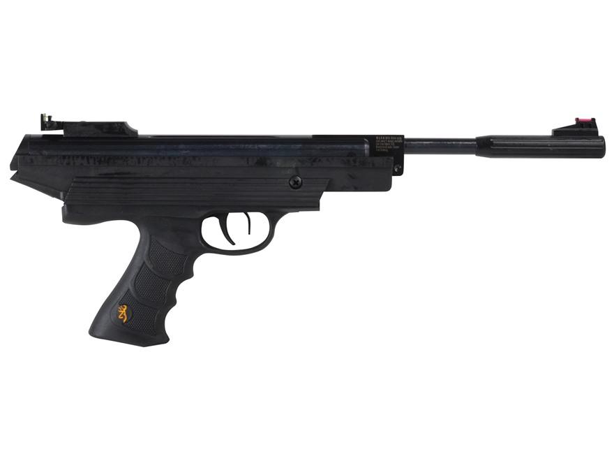 Browning 800 Express Air Pistol 22 Caliber Pellet Black Polymer Grip Blue Barrel