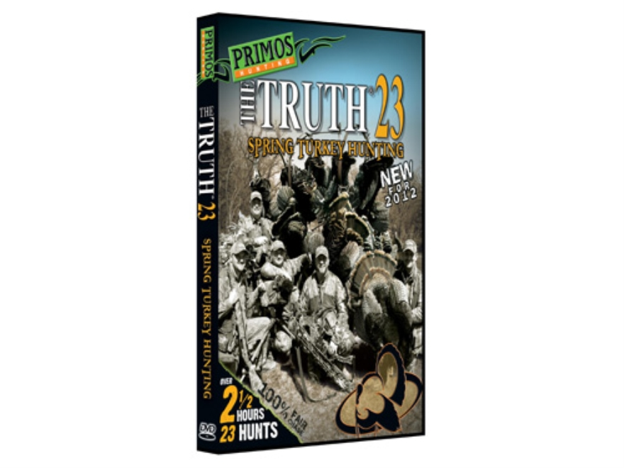 "Primos ""The Truth 23, Spring Turkey Hunting"" DVD"