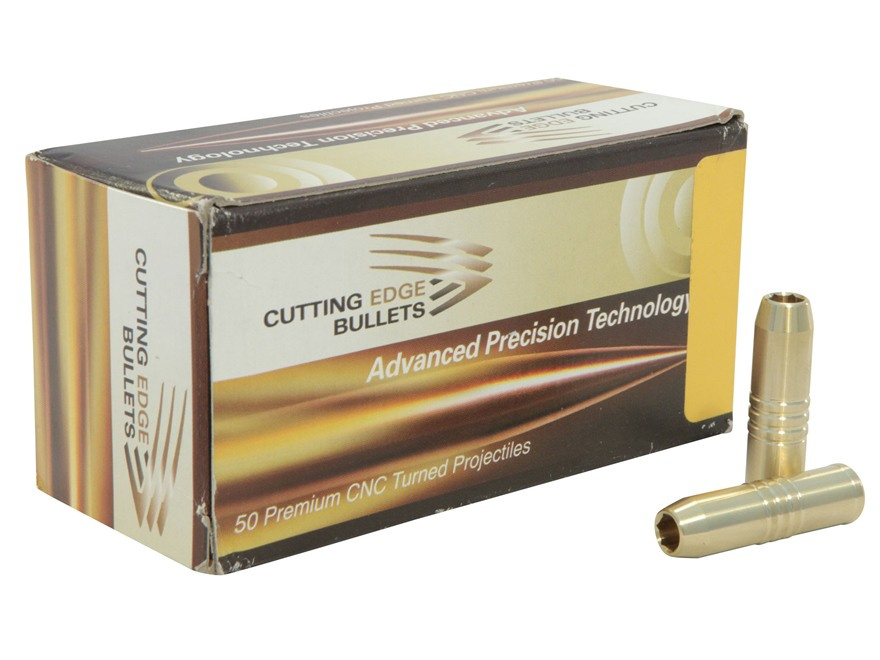 Cutting Edge Bullets Safari Raptor Bullets 416 Caliber (416 Diameter) 370 Grain Hollow Point Brass Box of 50