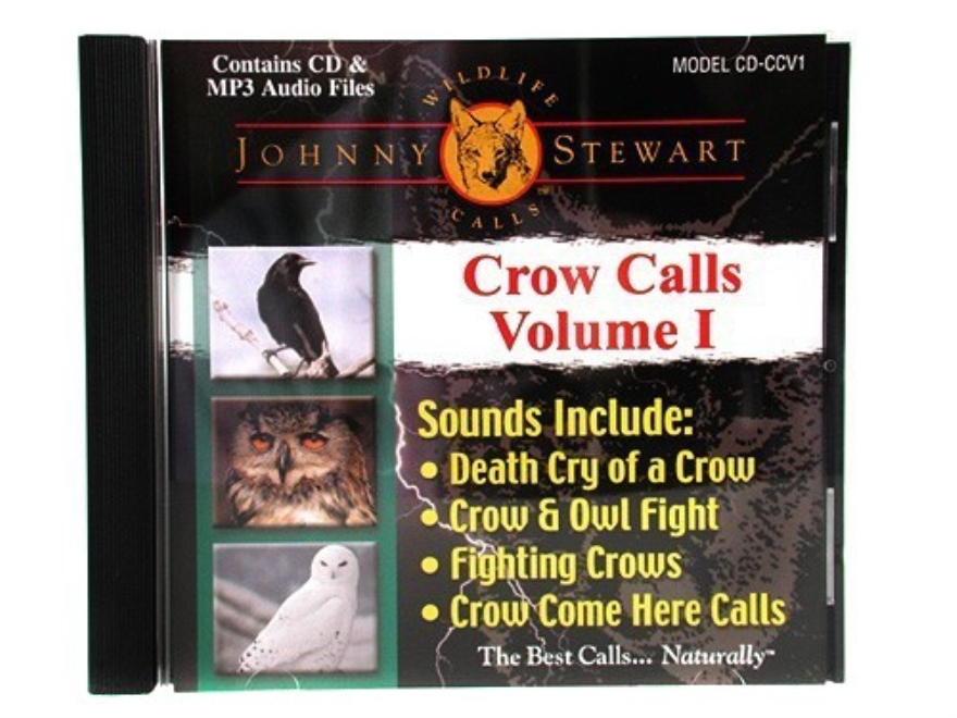 "Johnny Stewart Compact Disc ""Crow Calls"" Volume 1"