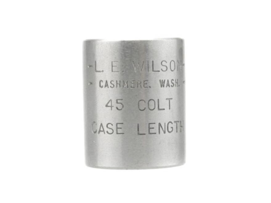L.E. Wilson Case Length Gage 45 Colt (Long Colt)