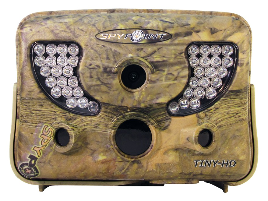 Spypoint Tiny-HD Infrared Game Camera 8.0 Megapixel with Viewing Screen Spypoint Dark Forest Camo