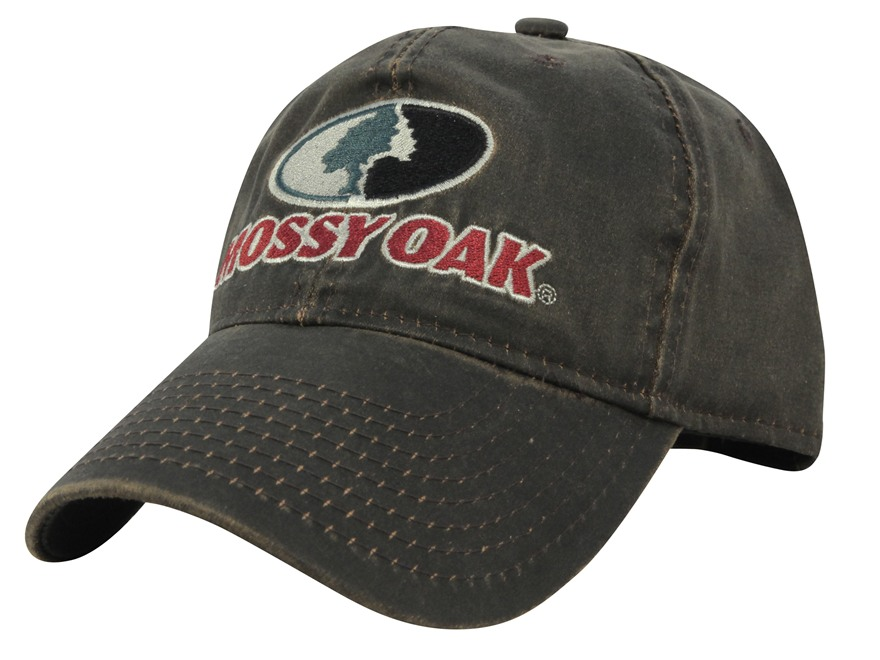 Mossy Oak Weathered Logo Cap Cotton Brown