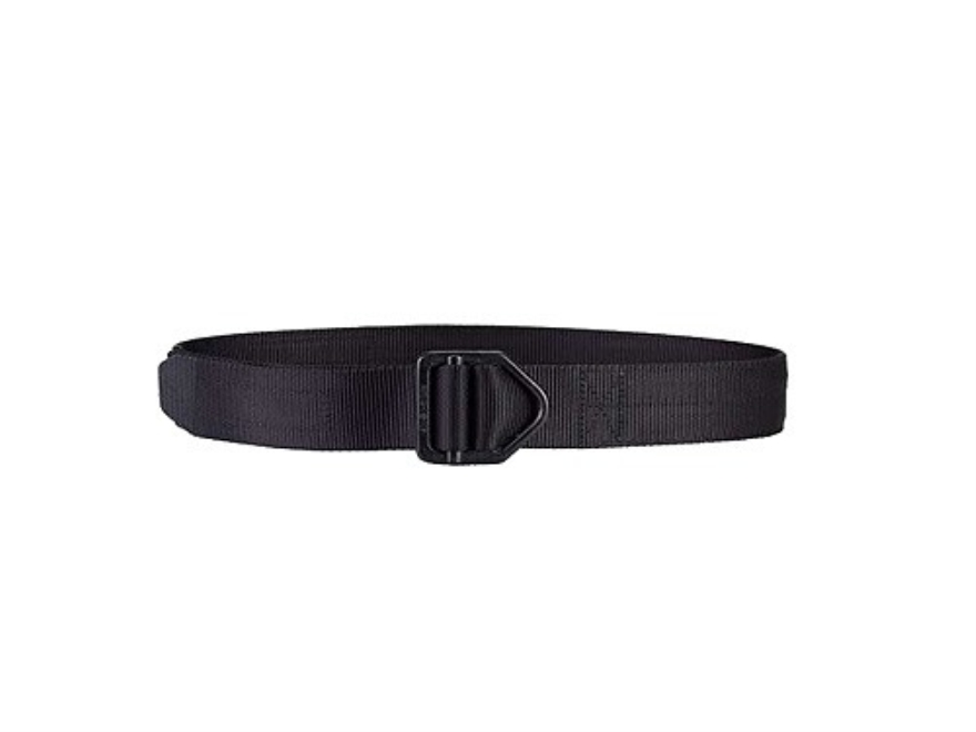 "Galco Reinforced Instructor Belt 1-1/2"" Black Roguard Firearm Finish Coated Steel Buckle Nylon Black 38"" to 41"""