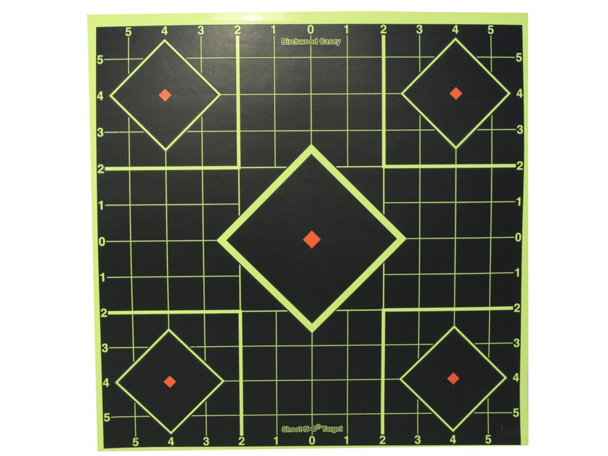 "Birchwood Casey Shoot-N-C Targets 12"" Sight-In Package of 5"