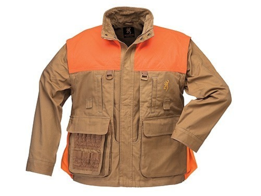 Browning Mens Pheasants Forever Jacket Long Sleeve Cotton and Polyester