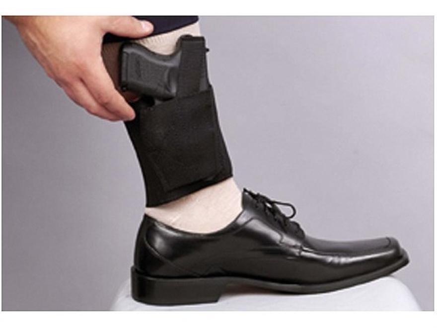 DeSantis Apache Ankle Holster Large Frame Semi-Automatic Nylon Black