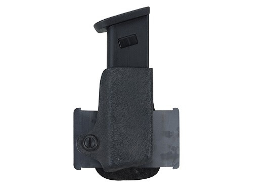 Safariland 074 Single Paddle Magazine Pouch Right Hand Beretta 92F, HK P7, Kahr E9, K9, Sig Sauer P225, P239, S&W 39, 439, 639 Polymer STX Tactical Black