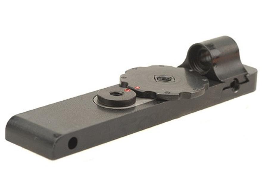 Mojo Micro Click Rear Ghost Ring Sight Schmidt-Rubin K31, 11 Steel Blue