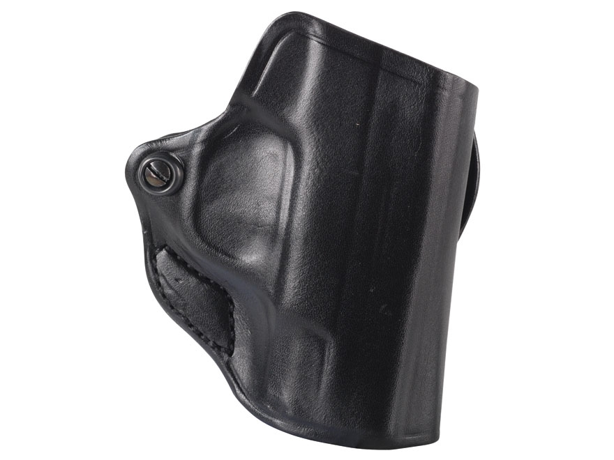 DeSantis Mini Scabbard Belt Holster S&W M&P Shield Leather