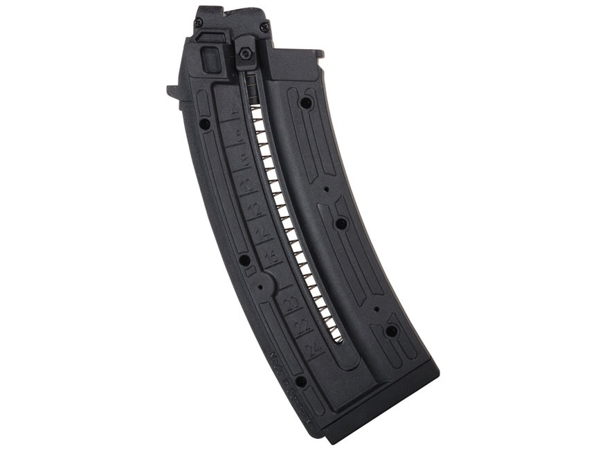 GSG Magazine GSG AK-47 22 Long Rifle 24-Round Polymer Black