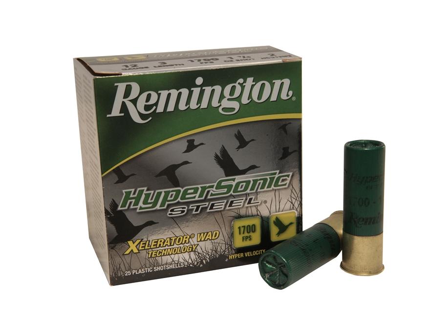 """Remington HyperSonic Ammunition 12 Gauge 3"""" 1-1/4 oz #2 Non-Toxic Shot"""