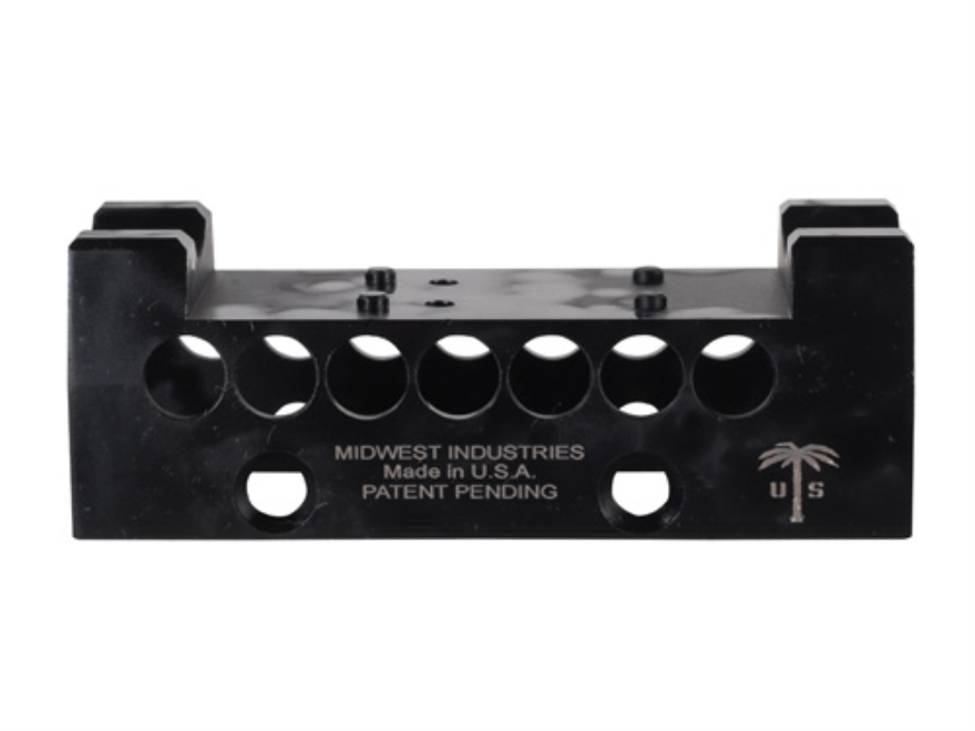 Midwest Industries US Palm AK-47, AK-74 Handguard Top Cover with Leupold Delta Point Optic Mount Aluminum