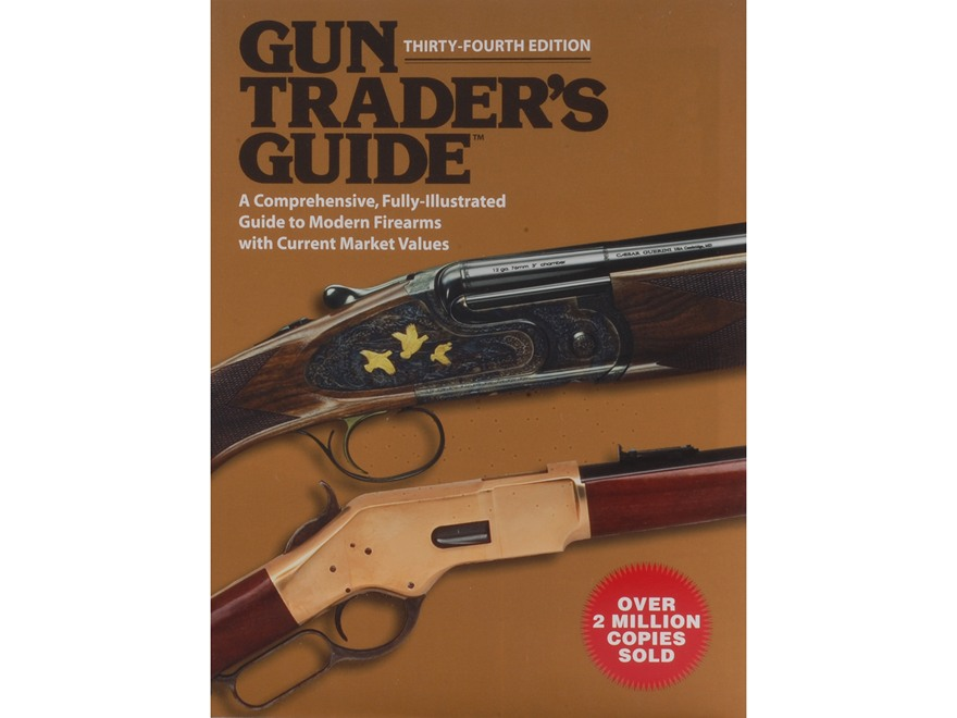 """Gun Trader's Guide 34th Edition"" Book By Stephen D. Carpenteri"