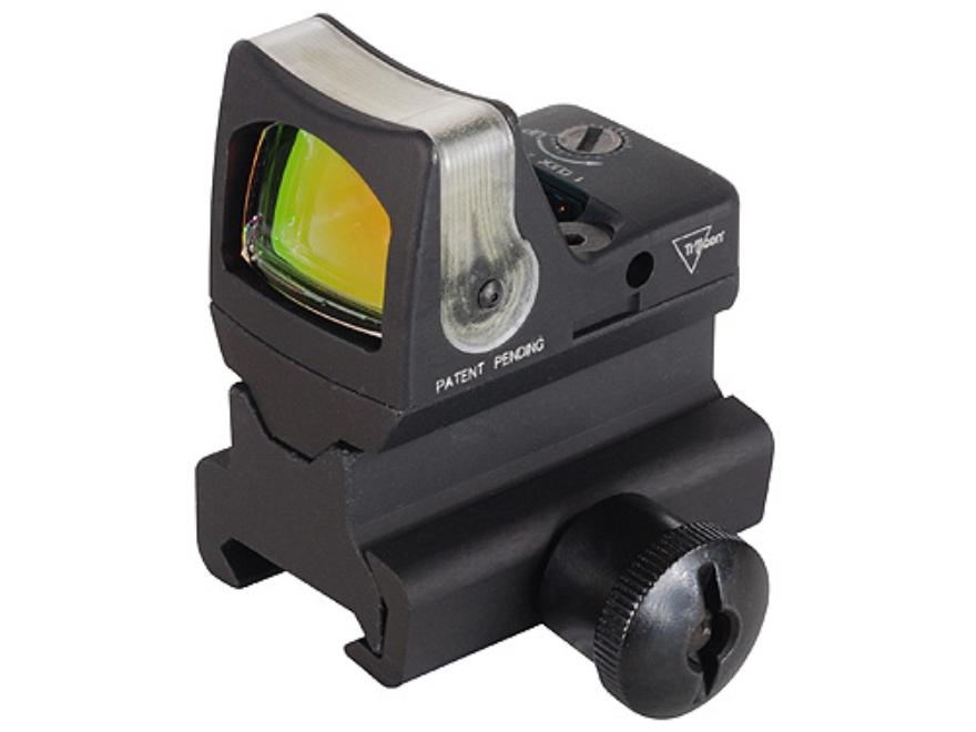 Trijicon RMR Reflex Red Dot Sight Dual-Illuminated Amber Dot Matte with RM34 Mount Matte