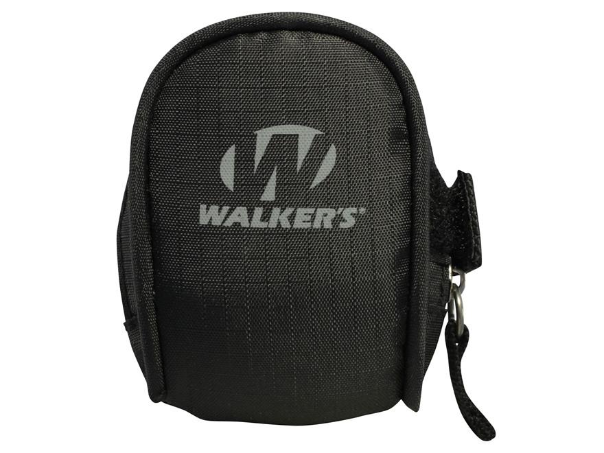 Walker's Game Ear Electronic Ear Plug Field Carrying Pouch Black