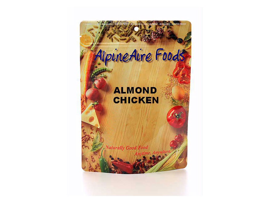 AlpineAire Almond Chicken Freeze Dried Food 2 Servings