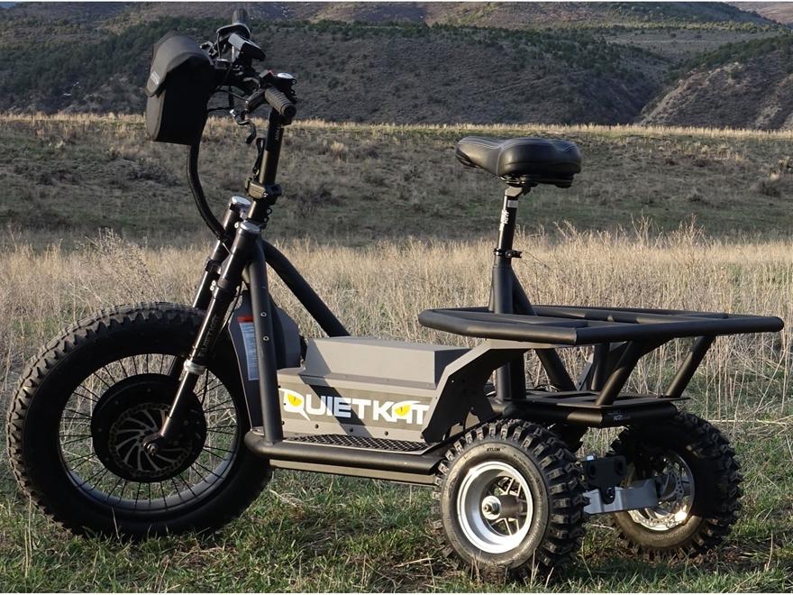 QuietKat Hunter AP 48 Volt Electric Utility Vehicle