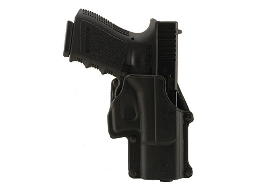 Fobus Belt Holster Right Hand Glock 17, 19, 22, 23, 31, 32, 34, 35 Polymer Black
