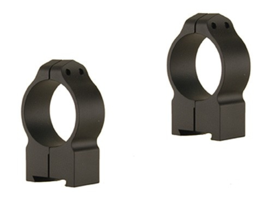 Warne Permanent-Attachable Ring Mounts CZ 550, BRNO 602 (19mm Dovetail)