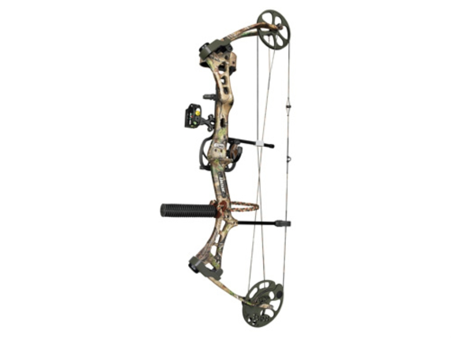 "Bear Encounter RTH Compound Package Bow Right Hand 60-70 lb. 27""-32"" Draw Length Realtree APG Camo"
