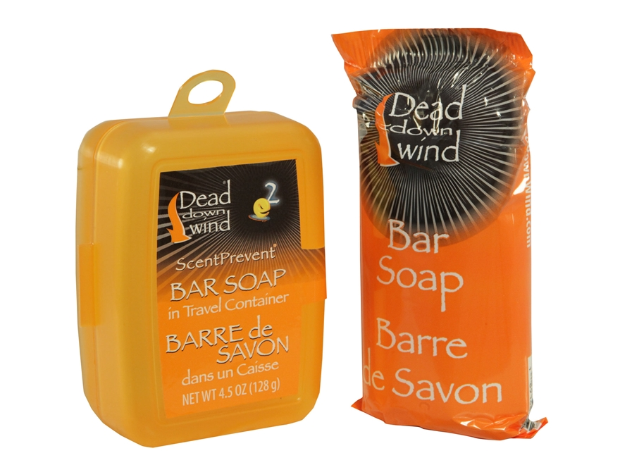 Dead Down Wind Scent Elimination Bar Soap with Travel Case 4.5 oz