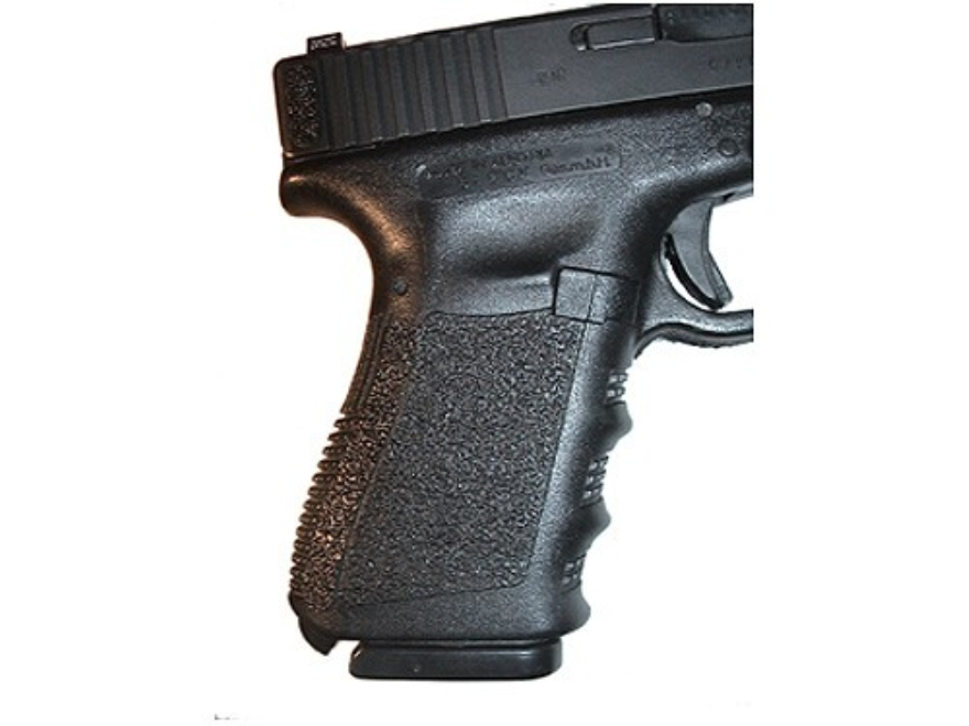 Decal Grip Tape Glock 3rd Generation 20, 21 Black (not for Short Frame)