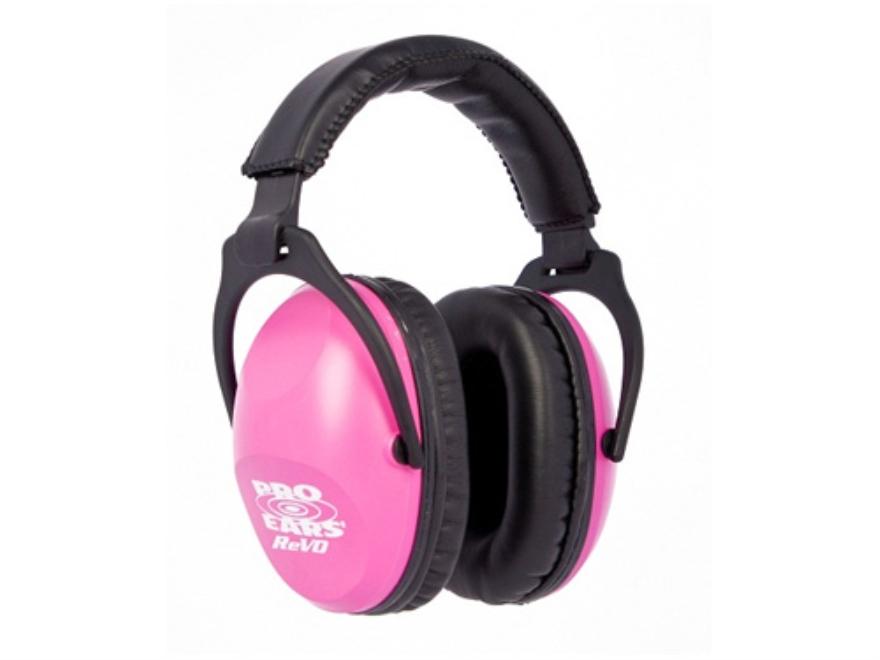 Pro Ears ReVO Earmuffs (NRR 26 dB) Neon Pink