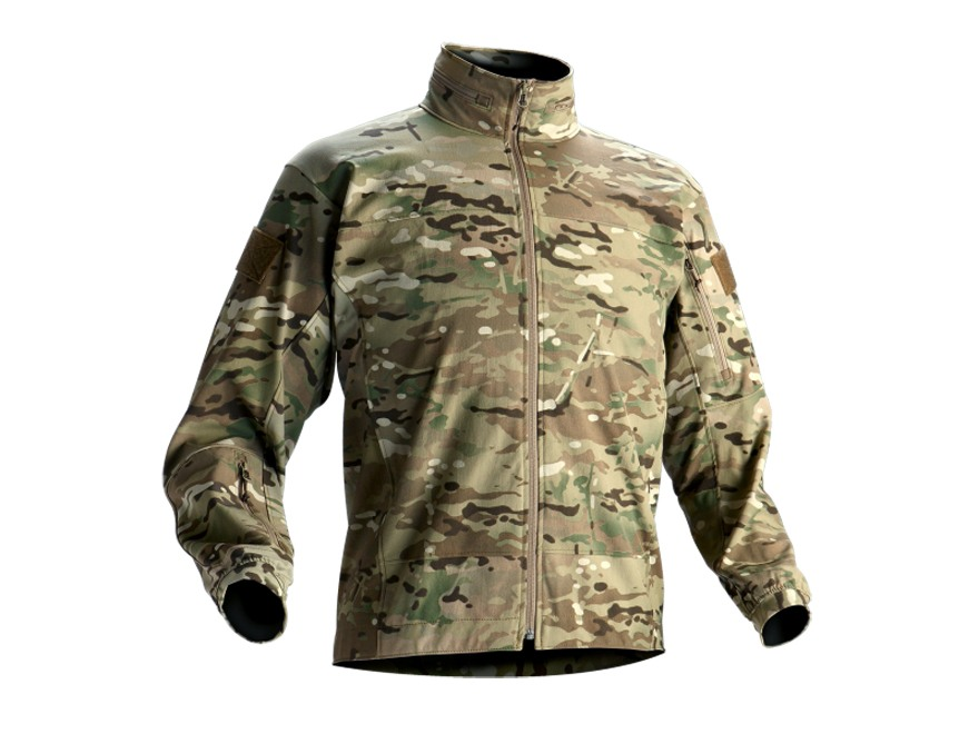 Wild Things Tactical Lightweight Soft Shell Jacket Multicam Camo Medium