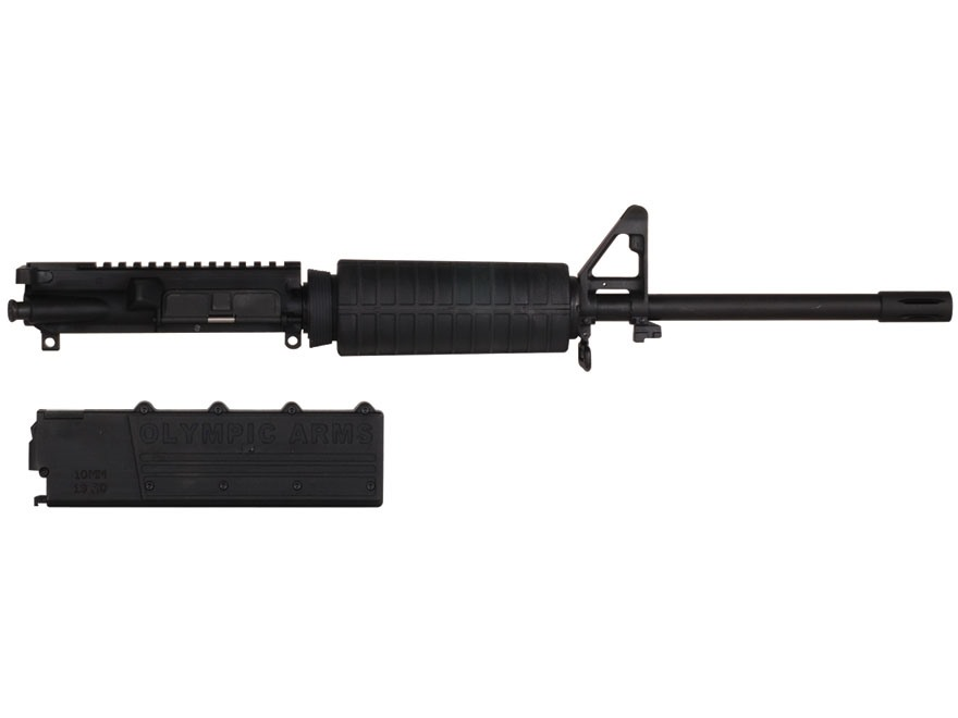 """Olympic Arms AR-15 A3 Upper Receiver Assembly 10mm Auto 16"""" Barrel"""