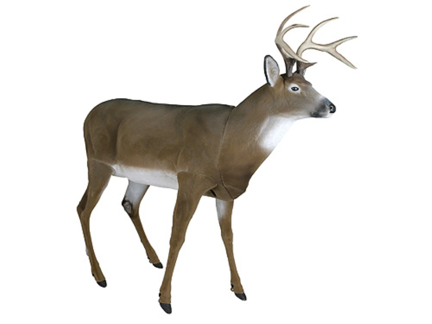Flambeau Masters Series Flocked Boss Buck Deer Decoy Polymer