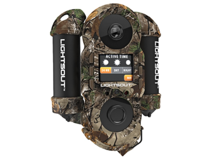 Wildgame Innovations Crush 8 Lightsout Black Flash Infrared Game Camera 8.0 Megapixel Realtree Xtra Camo