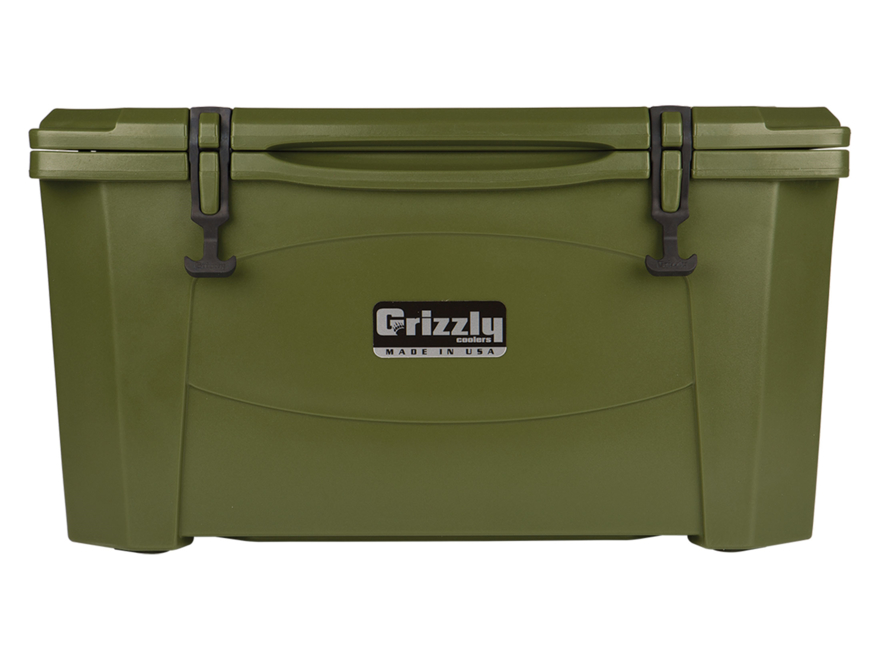 Grizzly 60 Qt Cooler with Molded Handles